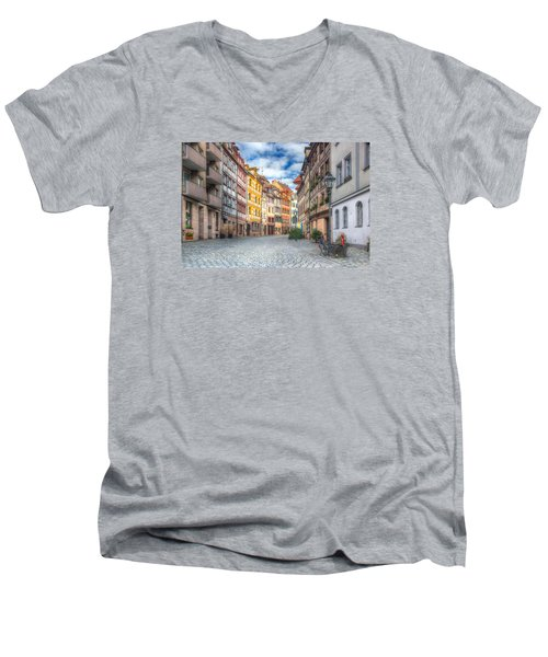 Weissgerbergasse Men's V-Neck T-Shirt
