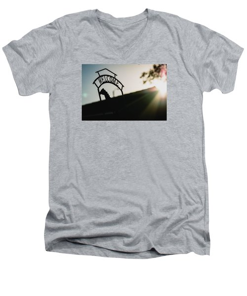 Welcome Men's V-Neck T-Shirt