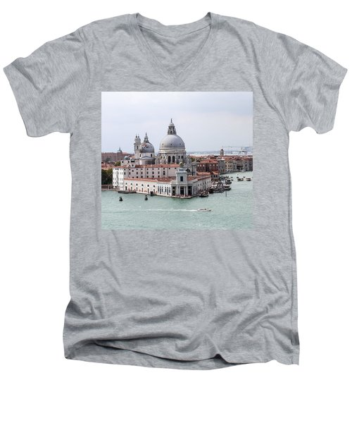 Welcome To Venice Men's V-Neck T-Shirt
