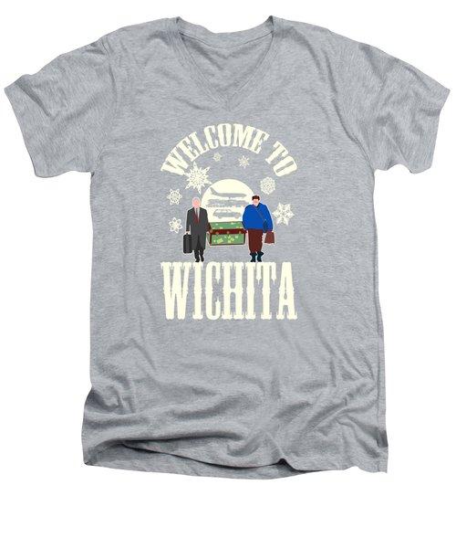 Welcome To Wichita  Men's V-Neck T-Shirt