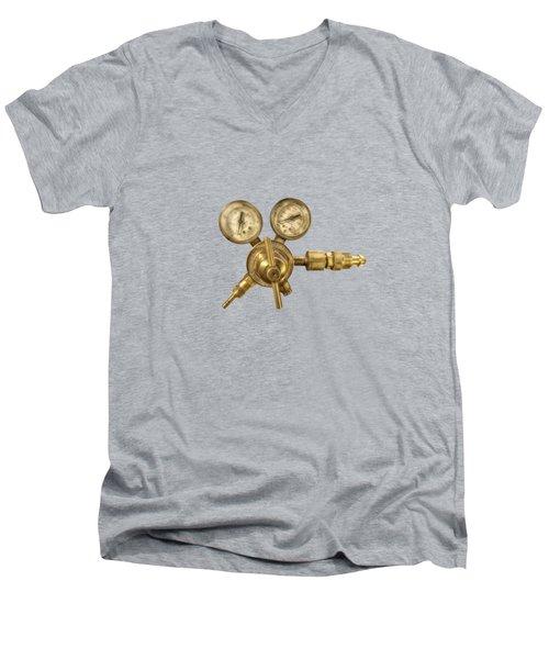 Welding Gauges Men's V-Neck T-Shirt