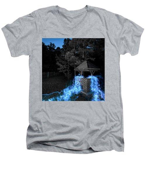 Well Bw Men's V-Neck T-Shirt