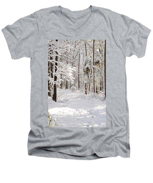 Well Men's V-Neck T-Shirt