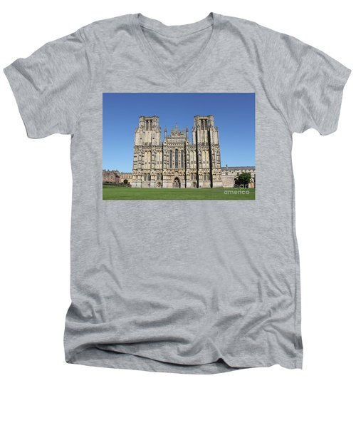 Wells Cathedral Men's V-Neck T-Shirt