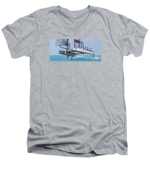 We're Flying Now Men's V-Neck T-Shirt