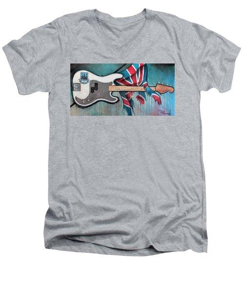 West Ham Trooper Men's V-Neck T-Shirt