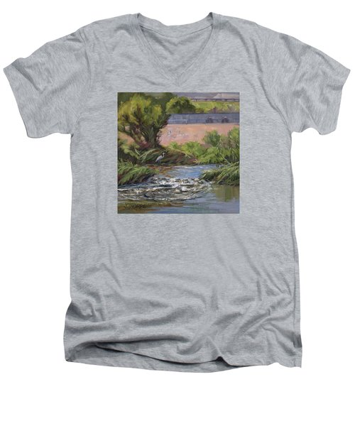 West Of Fletcher Bridge Men's V-Neck T-Shirt