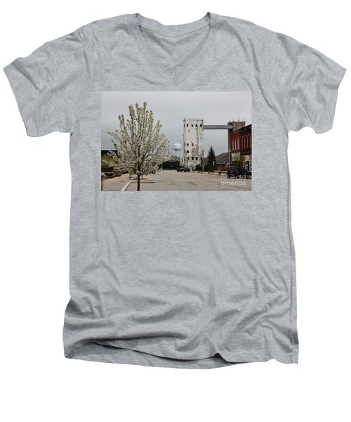 West Reed Street Men's V-Neck T-Shirt