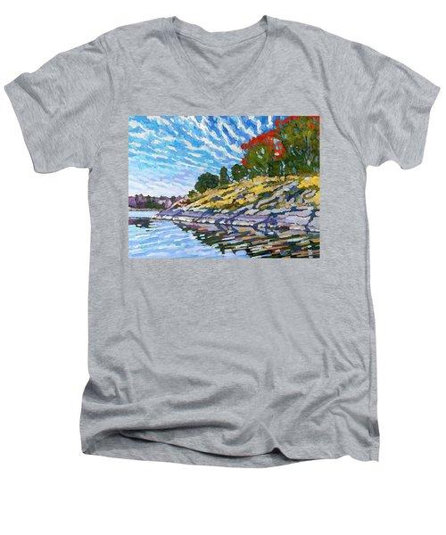 West Shore Men's V-Neck T-Shirt