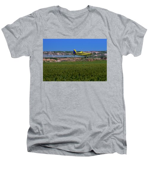 West Texas Airforce Men's V-Neck T-Shirt