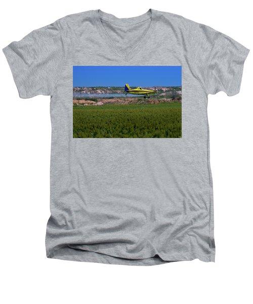 West Texas Airforce Men's V-Neck T-Shirt