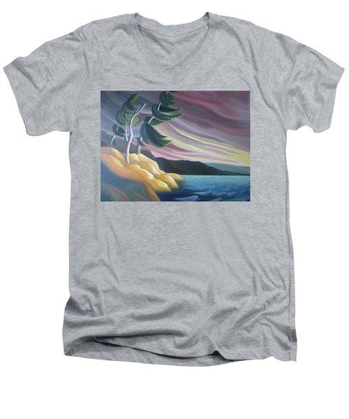 West Wind Men's V-Neck T-Shirt