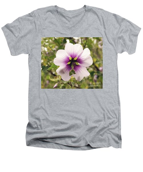 Western Australian Native Hibiscus Men's V-Neck T-Shirt