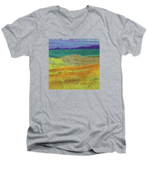 Western Edge Prairie Dream Men's V-Neck T-Shirt