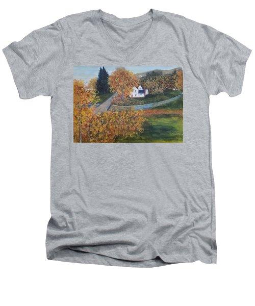 Western New York Men's V-Neck T-Shirt