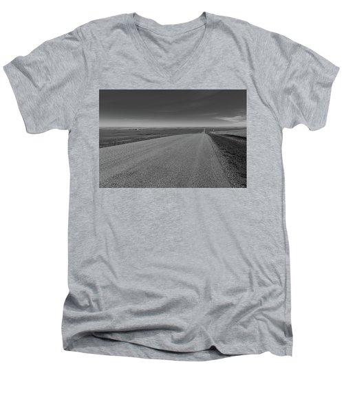 Western Sunrise Men's V-Neck T-Shirt