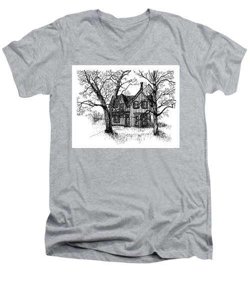Westhill House 1 Men's V-Neck T-Shirt