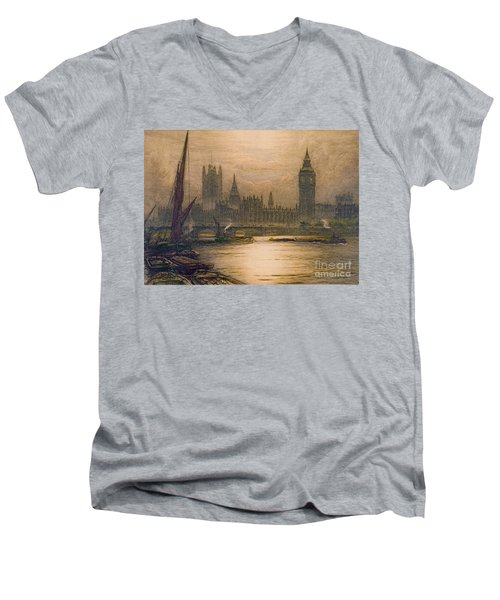 Westminster London 1920 Men's V-Neck T-Shirt