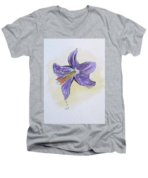 Wet Flower Men's V-Neck T-Shirt