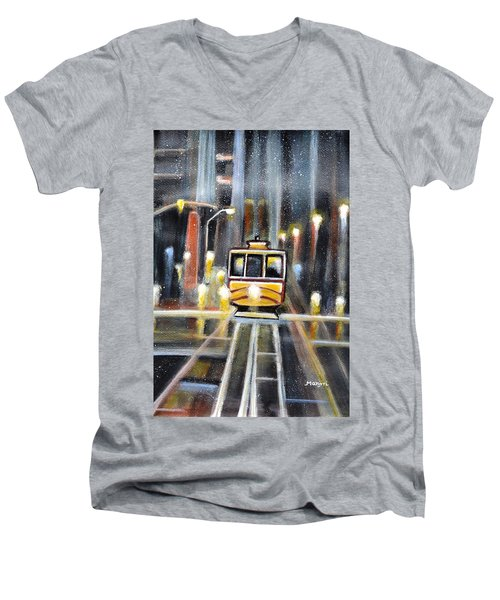 Wet Tram California Men's V-Neck T-Shirt
