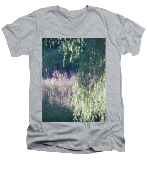 Wetlands Impressions Men's V-Neck T-Shirt