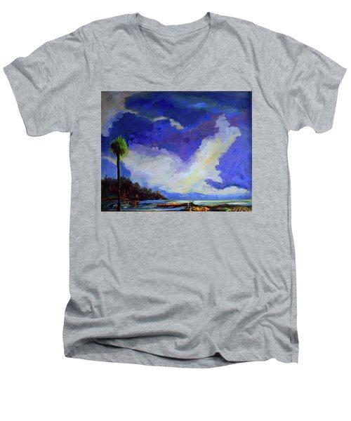Wetlands Sky  Men's V-Neck T-Shirt
