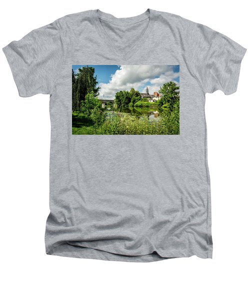 Men's V-Neck T-Shirt featuring the photograph Wetzlar Germany by David Morefield