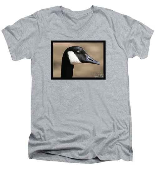 Canadian Goose Men's V-Neck T-Shirt
