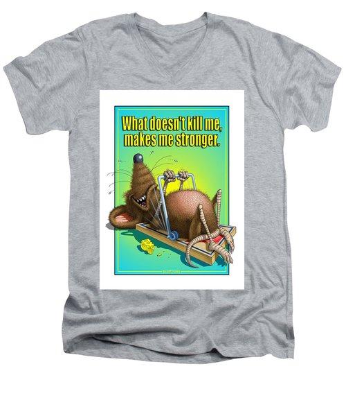 What Doesn't Kill Me... Men's V-Neck T-Shirt