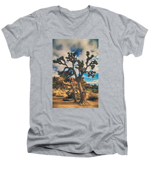 What I Wouldn't Give Men's V-Neck T-Shirt by Laurie Search
