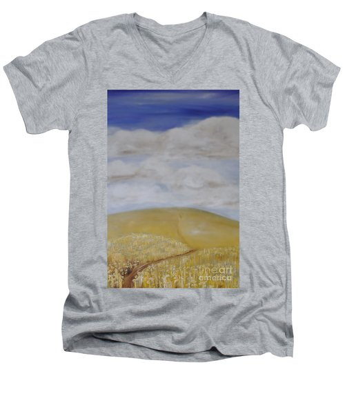 What Is Beyond? Men's V-Neck T-Shirt