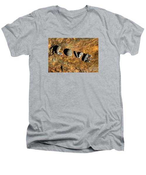 What The World Needs More Of Men's V-Neck T-Shirt by Sherman Perry
