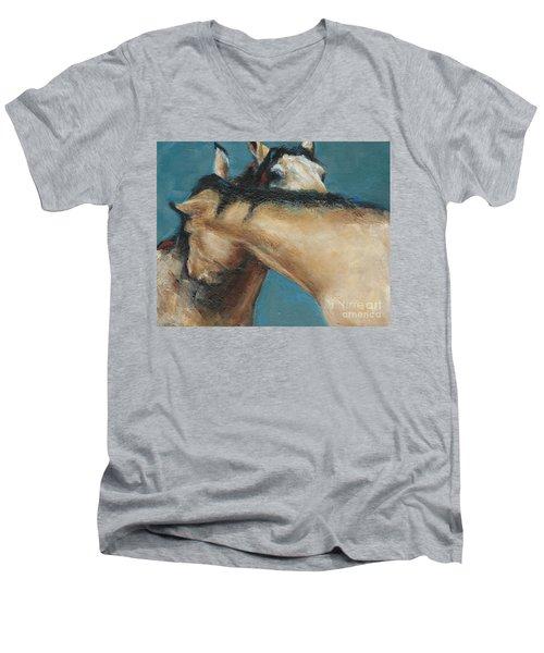 What We Can All Use A Little Of  Men's V-Neck T-Shirt