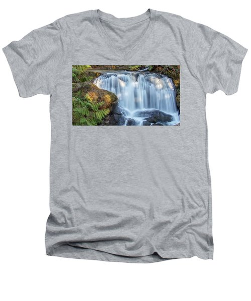 Whatcome Falls Men's V-Neck T-Shirt