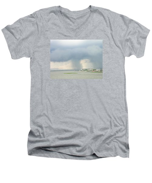 What's Coming? Men's V-Neck T-Shirt
