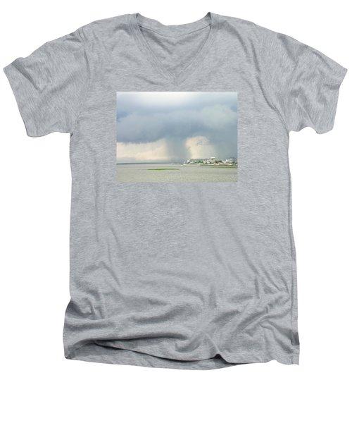 What's Coming? Men's V-Neck T-Shirt