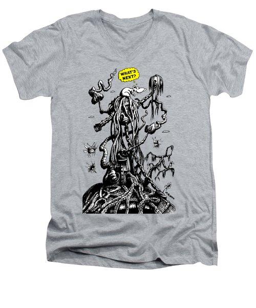 What's Next? Men's V-Neck T-Shirt