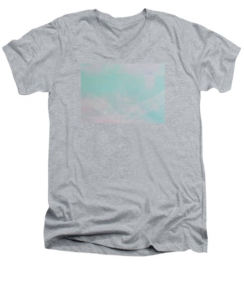 What's The Next Step? Men's V-Neck T-Shirt by Min Zou