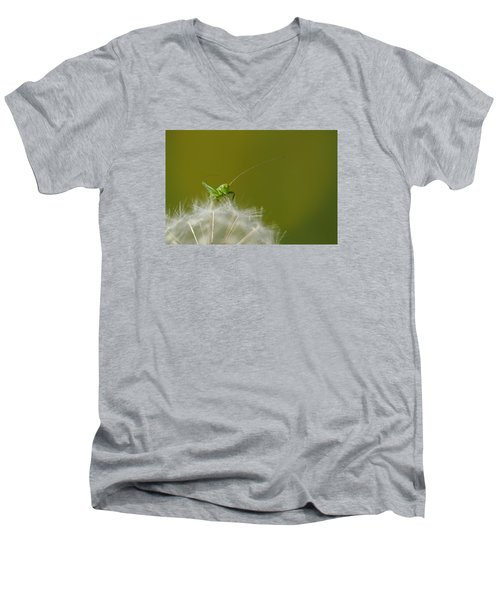Men's V-Neck T-Shirt featuring the photograph What's The Time.... by Richard Patmore
