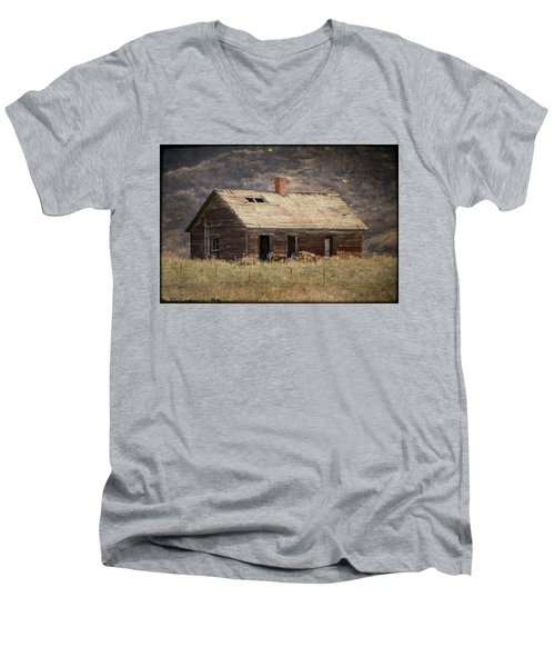 What's Your Story Old House? Men's V-Neck T-Shirt