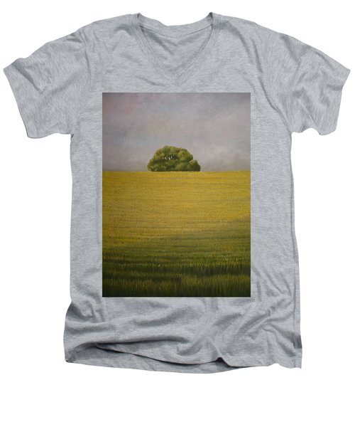 Wheat Field Men's V-Neck T-Shirt
