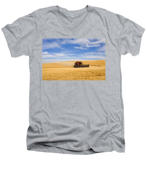 Wheat Harvest Men's V-Neck T-Shirt