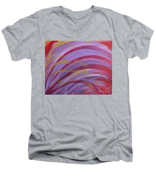 Wheat Men's V-Neck T-Shirt