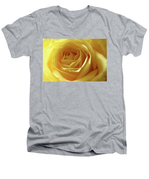When I Think Of You Men's V-Neck T-Shirt by Mike Eingle