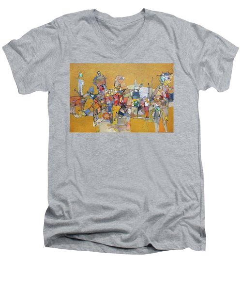 When Its Not Your War Men's V-Neck T-Shirt by Ronex Ahimbisibwe