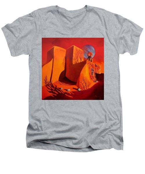 When Jupiter Aligns With Mars Men's V-Neck T-Shirt