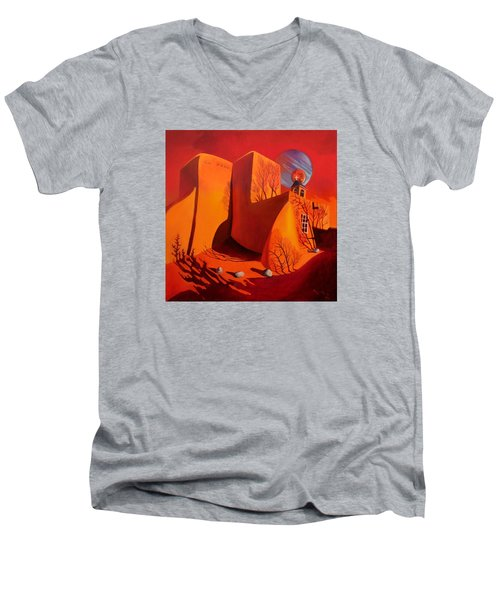 When Jupiter Aligns With Mars Men's V-Neck T-Shirt