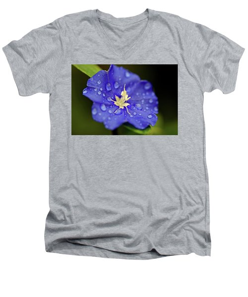 Men's V-Neck T-Shirt featuring the photograph When Old Becomes New by Melanie Moraga