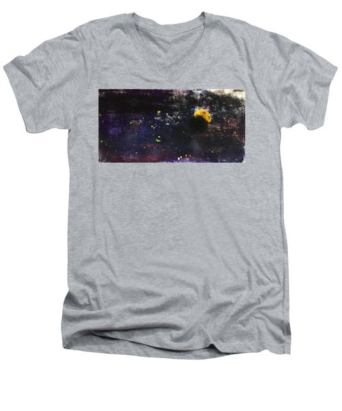 When Paths Cross Men's V-Neck T-Shirt