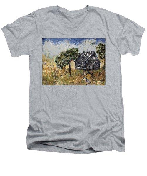 When September Ends Men's V-Neck T-Shirt by Kirsten Reed